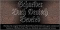 Illustration of font Schneider Buch Deutsch Beveled
