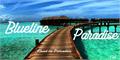 Illustration of font Blueline Paradise