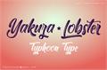 Illustration of font Yakuza Lobster