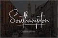 Illustration of font Southampton