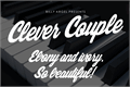 Illustration of font Clever Couple Personal Use