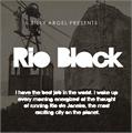 Illustration of font Rio Black Pesonal Use