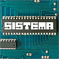 Illustration of font Sistema