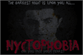Illustration of font Nyctophobia