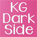 Illustration of font KG Dark Side