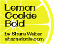 Illustration of font LemonCookie