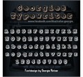 Illustration of font Georgies_Typewriter