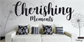 Illustration of font Cherishing Moments