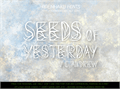 Illustration of font Seeds of Yesterday