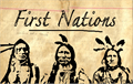 Illustration of font First Nation