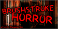 Illustration of font Brushstroke Horror