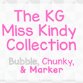 Illustration of font KG Miss Kindy Bubble