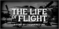 Illustration of font The Life of Flight
