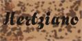 Illustration of font Hertziano