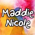 Illustration of font Maddie_Nicole