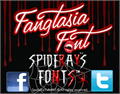 Illustration of font Fangtasia