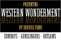 Illustration of font Western Wonderment