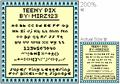 Illustration of font Teeny-Pix