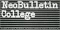 Illustration of font NeoBulletin College