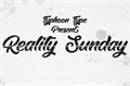 Illustration of font Reality Sunday