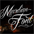 Illustration of font Mardian Demo
