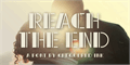 Illustration of font Reach the End
