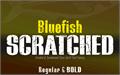 Illustration of font BLUEFISH SCRATCHED Demo