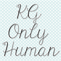 Illustration of font KG Only Human
