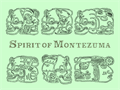 Illustration of font Spirit of Montezuma
