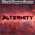 Illustration of font Alternity