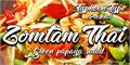 Illustration of font Zomtam Thai