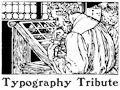Illustration of font TypographyTribute