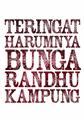 Illustration of font Sekar Arum
