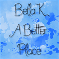 Illustration of font Bella K. A Better Place