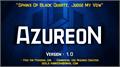 Illustration of font AzureoN