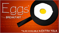 Illustration of font Eggs