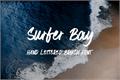 Illustration of font Surfer Bay
