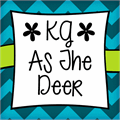 Illustration of font KG As The Deer