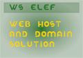 Illustration of font WS Elef