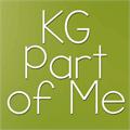 Illustration of font KG Part of Me