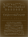 Illustration of font 24 boughs Regular