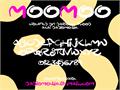 Illustration of font MooMoo