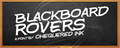 Illustration of font Blackboard Rovers