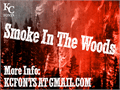 Illustration of font Smoke In The Woods