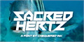 Illustration of font Sacred Hertz