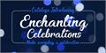 Illustration of font Enchanting Celebrations