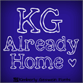 Illustration of font KG Already Home