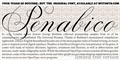 Illustration of font Penabico LIMITED FREE VERSION
