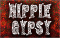 Illustration of font Hippie Gypsy