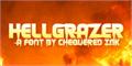 Illustration of font Hellgrazer